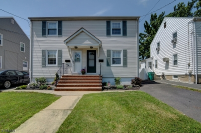 Cranford Twp. Single Family Home For Sale: 4 Burnside Ave