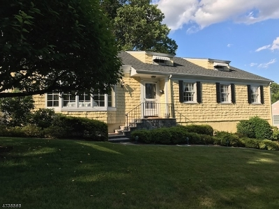 Millburn Twp. Single Family Home For Sale: 151 Western Dr