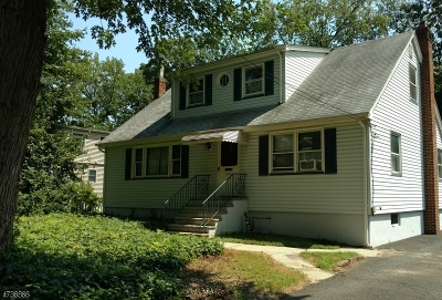Cranford Twp. Single Family Home For Sale: 44 Hawthorne St