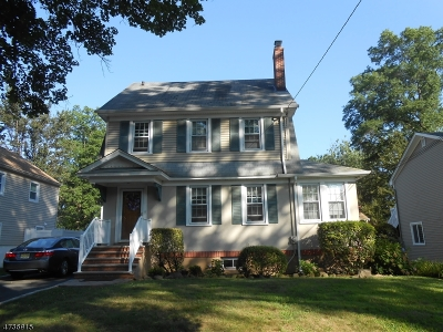 Fanwood Boro Single Family Home For Sale: 20 Portland Ave
