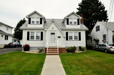 Boonton Town Single Family Home For Sale: 112 Taft St