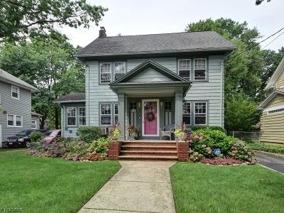 ROSELLE Single Family Home For Sale: 712 Chestnut St