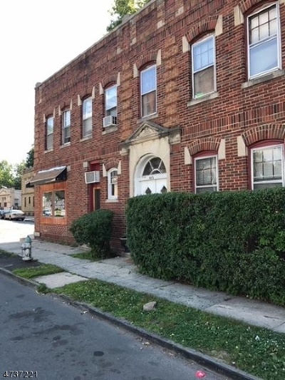 Essex County, Morris County, Union County Multi Family Home For Sale: 196-98 Tremont Ave