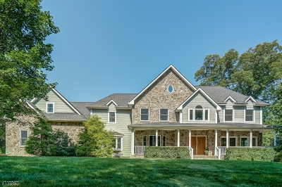 Bernards Twp. Single Family Home For Sale: 150 Pond Hill Rd
