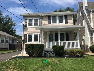 RAHWAY Single Family Home For Sale: 757 Central Ave