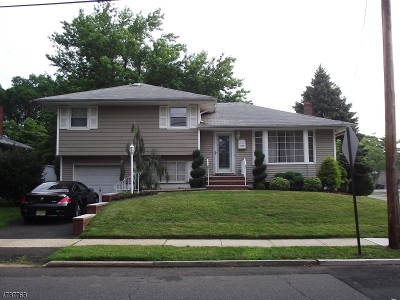 RAHWAY Single Family Home For Sale: 579 Harris Dr
