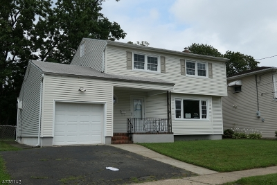 RAHWAY Single Family Home For Sale: 2323 Desisto Dr