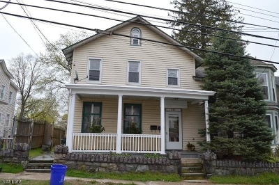 Boonton Town Multi Family Home For Sale: 219 Boonton Ave
