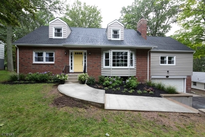 Morristown Town NJ Single Family Home For Sale: $639,000