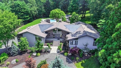 WATCHUNG Single Family Home For Sale: 30 Snoden Ln