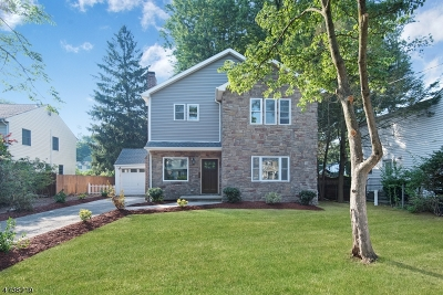 Scotch Plains Twp. Single Family Home For Sale: 2318 Mountain Ave