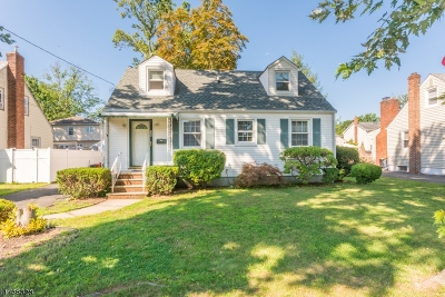 ROSELLE PARK Single Family Home For Sale: 524 Maplewood Ave