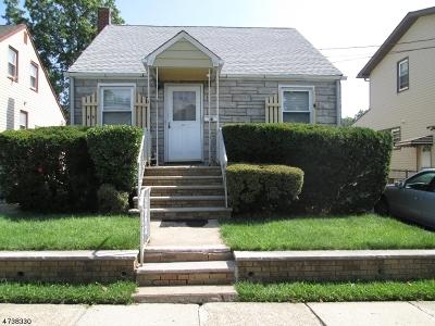 HILLSIDE Single Family Home For Sale: 520 Purce St