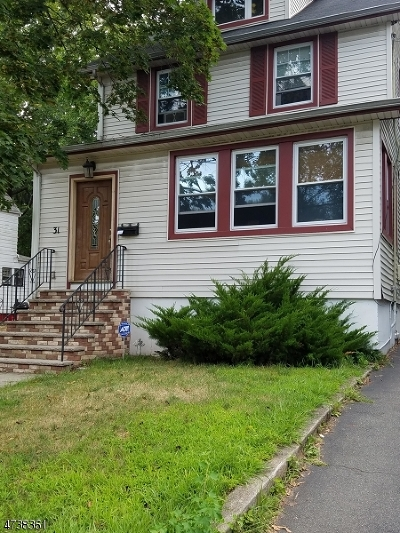 Maplewood Twp. Single Family Home For Sale: 31 Van Ness Ter