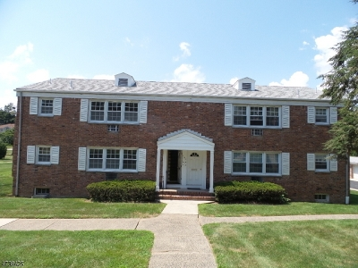 Cedar Grove Twp. NJ Condo/Townhouse Under Contract: $140,000