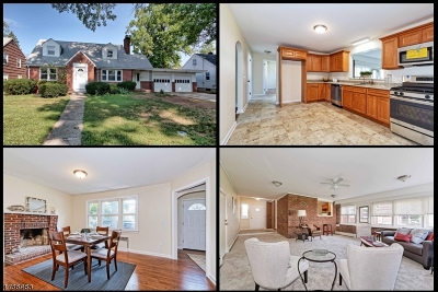 RAHWAY Single Family Home For Sale: 1566 Bedford St