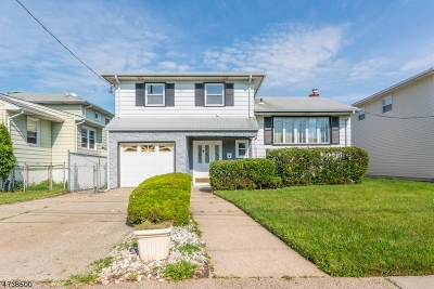 RAHWAY Single Family Home For Sale: 2284 Ward Dr