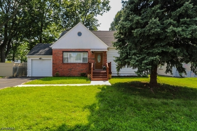 Union Twp. Single Family Home For Sale: 120 Headley Ter
