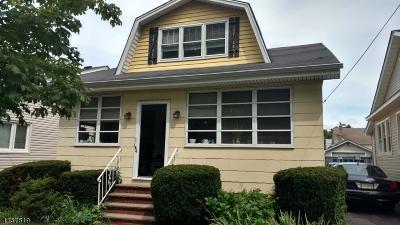 Union Twp. Single Family Home For Sale: 184 Vassar Ave