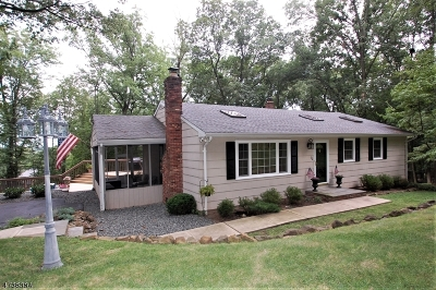 WATCHUNG Single Family Home For Sale: 72 Edgemont Rd