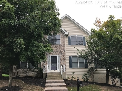 West Orange Twp. Condo/Townhouse For Sale: 58 Crystal Ave