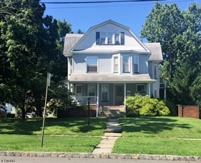 Essex County, Morris County, Union County Multi Family Home For Sale: 422 Boulevard