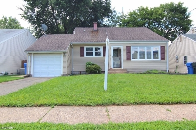 Woodbridge Twp. Single Family Home For Sale: 115 McKinley Ave