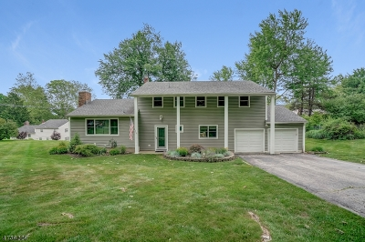 Morris Twp. Single Family Home Active Under Contract: 6 Upperfield Rd