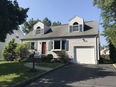 Cranford Twp. Single Family Home For Sale: 214 Scherrer St