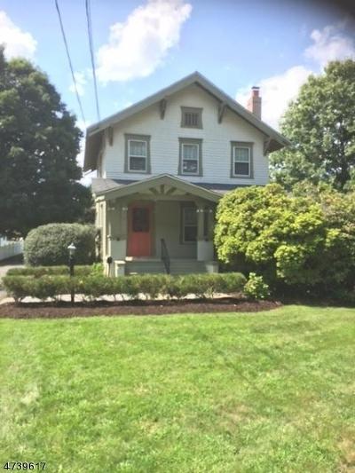Florham Park Boro Rental For Rent: 65 Ridgedale Ave