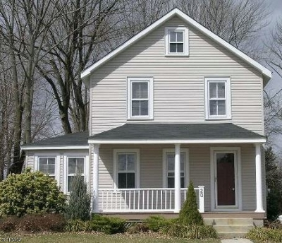 Madison Boro Single Family Home For Sale: 20 Brooklake Rd
