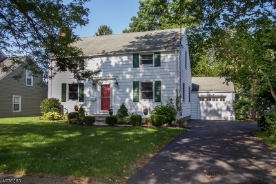 Morris Plains Boro Single Family Home For Sale: 64 Stiles Ave