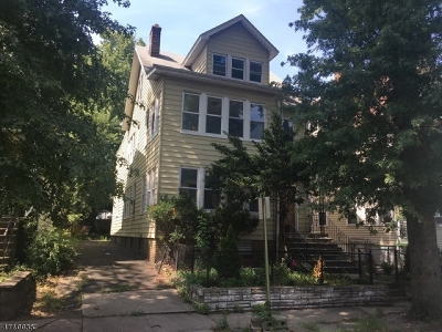 East Orange City NJ Multi Family Home Sold: $280,000 (2-Family)