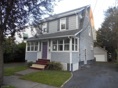 Maplewood Twp. Single Family Home For Sale: 96 Union Ave
