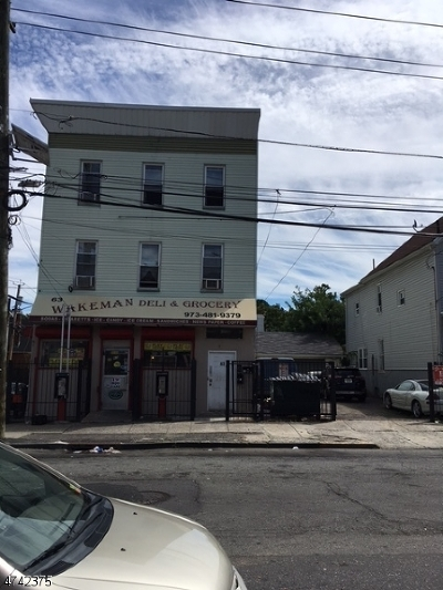 Newark City NJ Commercial For Sale: $475,000
