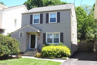 Nutley Twp. Single Family Home For Sale: 46 Funston Pl