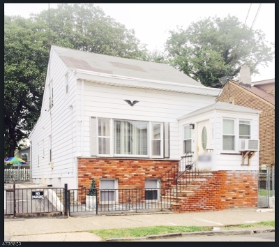 Paterson City Single Family Home For Sale: 182-184 Paterson Ave