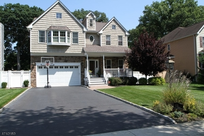 Fanwood Boro Single Family Home For Sale: 122 Farley Ave