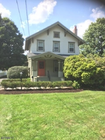 Florham Park Boro Single Family Home For Sale: 65 Ridgedale Ave