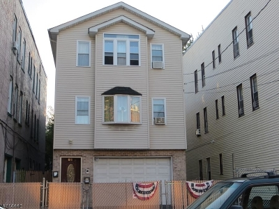Passaic City Multi Family Home For Sale: 81 Hope Ave