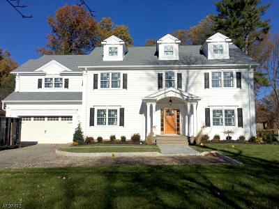 Chatham Twp. Single Family Home For Sale: 352 Shunpike Rd