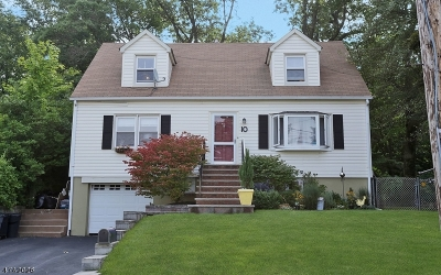 West Orange Twp. Single Family Home For Sale: 10 Forest Ave