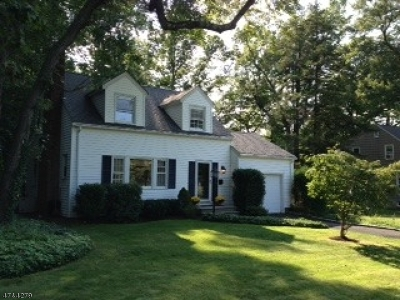 Madison Boro Single Family Home For Sale: 49 Keep St
