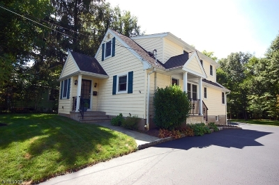 New Providence Boro Single Family Home For Sale: 134 Passaic St