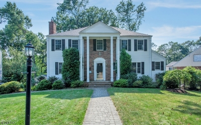 West Orange Twp. Single Family Home For Sale: 11 Nymph Rd