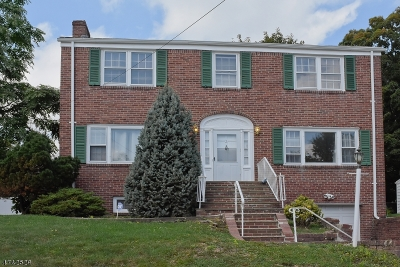 West Orange Twp. Single Family Home For Sale: 2 Brookside Rd