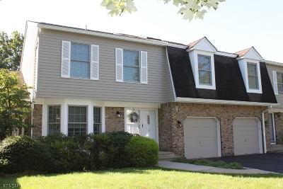 Bernards Twp. Condo/Townhouse For Sale: 18 Fairbanks Ln