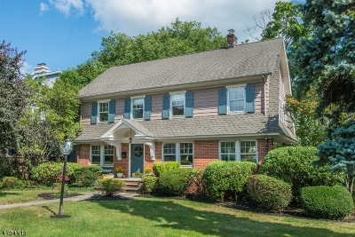Montclair Twp. Single Family Home For Sale: 331 Grove St
