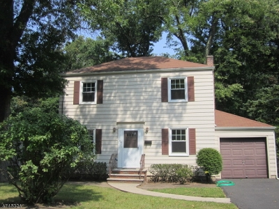 Livingston Twp. Single Family Home For Sale: 54 Bennington Rd