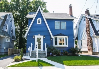 Maplewood Twp. Single Family Home For Sale: 152 Garfield Pl